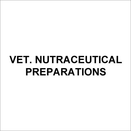Vet. Nutraceutical Preparations