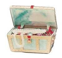 PENN PLAX TREASURE CHEST SMALL