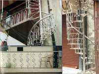SS Fancy Balcony Railings