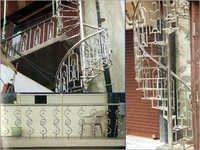 SS Fancy Balcony Railings