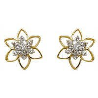 shaped diamond earrings,cute star shaped stu star