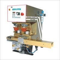 Double Colour Close Ink Cup Machine