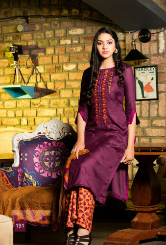 Lovely Pashmina Palazzo Suit