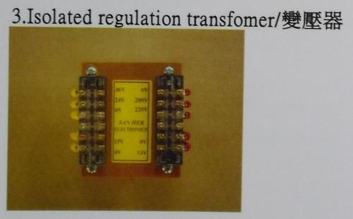 Isolated Regulation Transformer