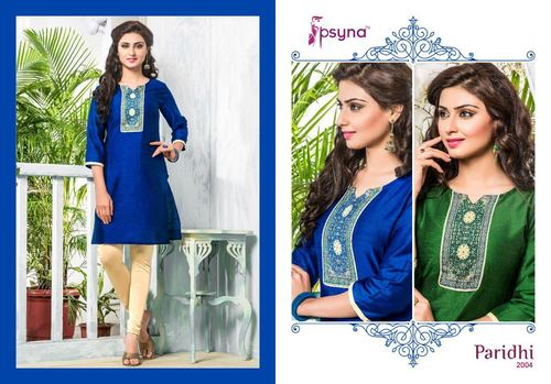 Marvellous Cotton Silk Kurti