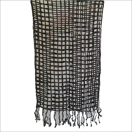 Black Crochet Scarves