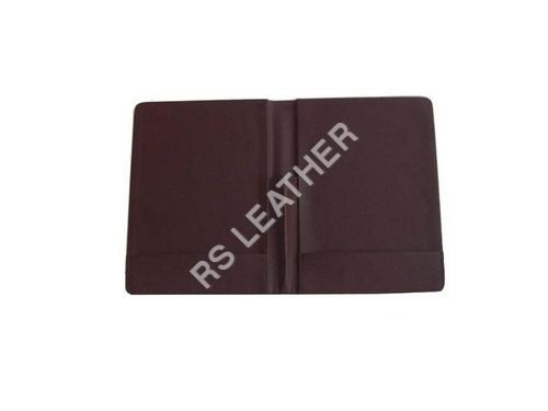 Brown  Leatherette Bill Holder