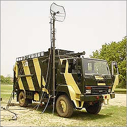Pneumatic Telescopic Mast