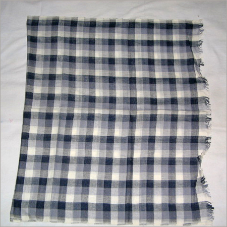 COTTON CHECK STOLES