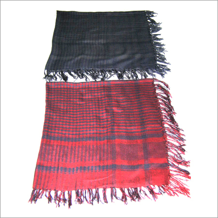 PURE VISCOSE SQUARE SCARVES