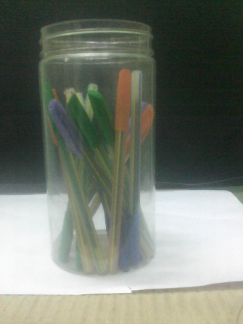 Stationary items jar