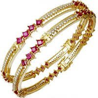 Solid Gold Bangle Design For Women