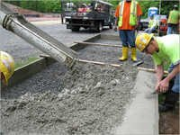Cement Concrete Road Construction