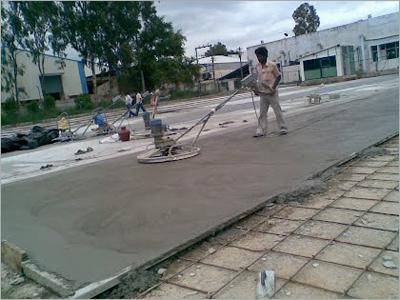 Vacuum Dewatering Flooring