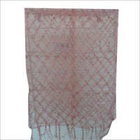 Pink Crochet Stoles And Scarves