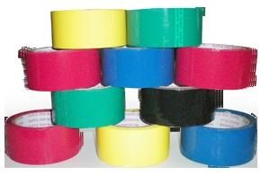 Coloured BOPP Tapes