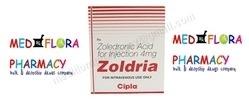 Zoldria Zoledronic Acid Cipla