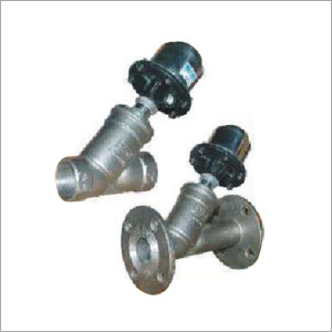Pneumatic Cylinder Operated Angle Valve