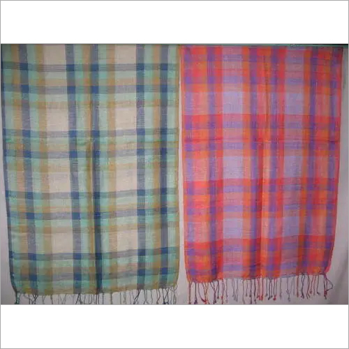 CHECKED STOLES