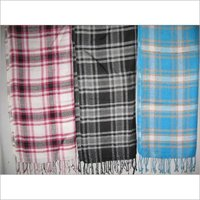 PURE COTTON CHECK STOLES