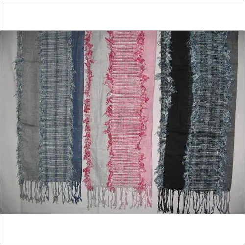 VISCOSE FANCY YARN SCARVES