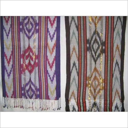 Viscose and  Ikat Scarves