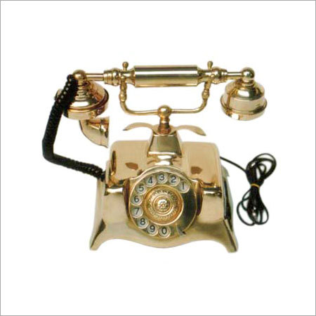 Brass Vintage Telephone