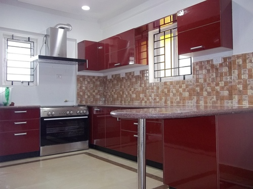 Nice U Shaped Modular Kitchen Designs