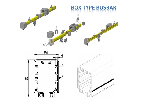 Box type Enclosed Bus bar