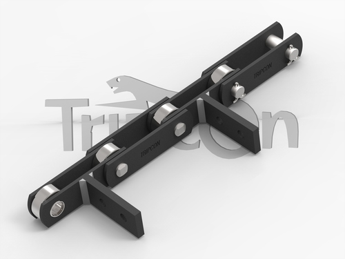 SS Slat Conveyor Chain