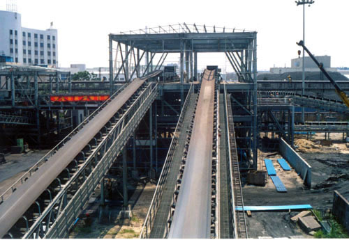 Coal Handling Belt Conveyor System