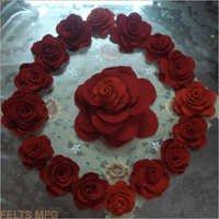 Handmade Floral Felts