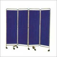 Four Section Medical Screen