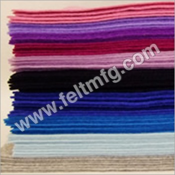 Color Woolen Felts