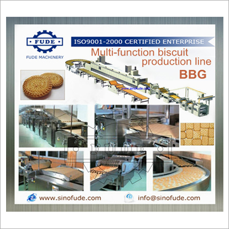 Automatic Multi-Function Biscuit Production Line
