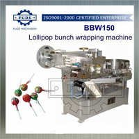 Lollipop Bunch Wrapping Machine
