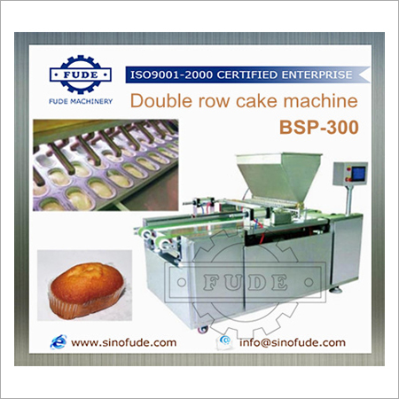 Double Row Cake Machine