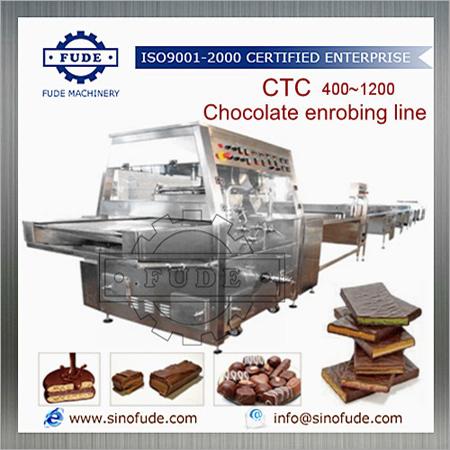 CTC400 Chocolate Enrobing Line