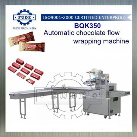 Automatic Chocolate Flow Wrapping Machine