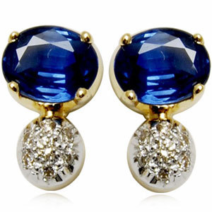 genuine earrings for young girls, little designer  for cute girls, micro pave setting diamond
