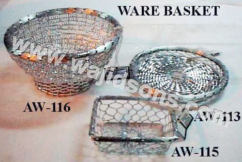 Round Bowl Wire Anodised