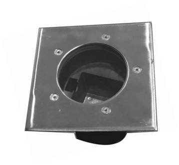 6W Inground Square