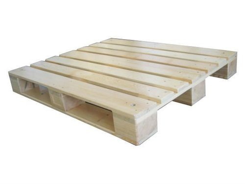 BLOCK TYPE WOODEN PALLET