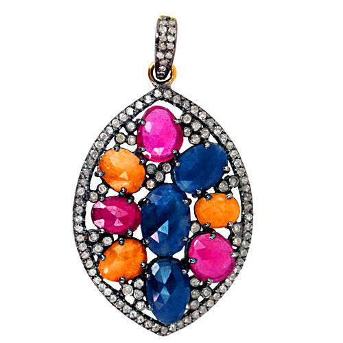 Diamond Gemstone Pendant Jewelry