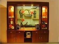 Glass Interior Decoration