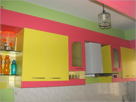 Kitchen Crockery Unit Designing