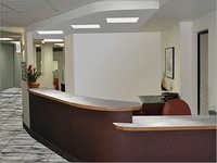 Reception Interior Designing
