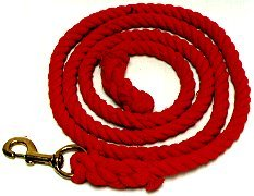 Colored Cotton Lead Rope