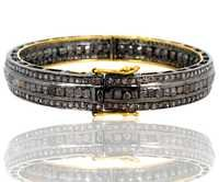 Diamond Gold Openable Bangle Jewelry