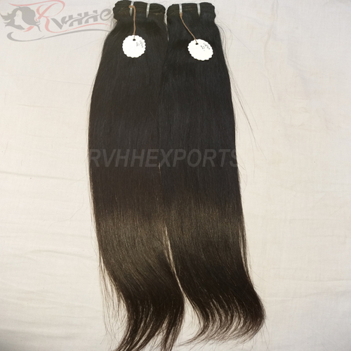 Natural Silky Straight Grade 9A Real Human Hair Extensions